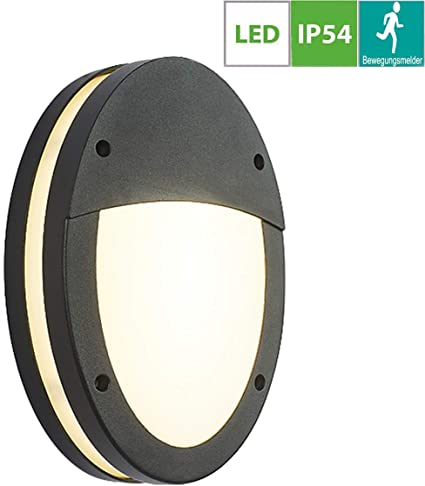 LED Outdoor Light Wall Lamp With Motion Detector 18W House Lighting Sensor