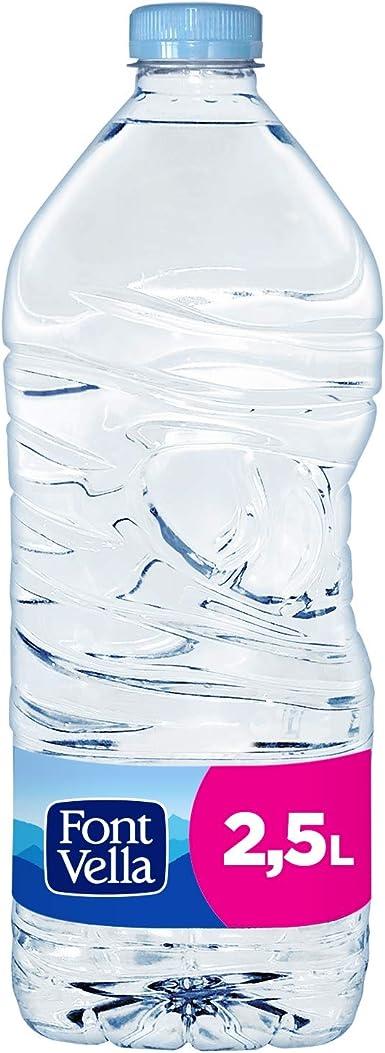Font Vella Agua Mineral Natural - Pack de 4 x 2,5L: Amazon.es ...
