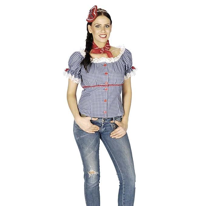 Estilo bávaro Trachten para mujer de diseño clásico Braco alemán de blusa de - mujer para
