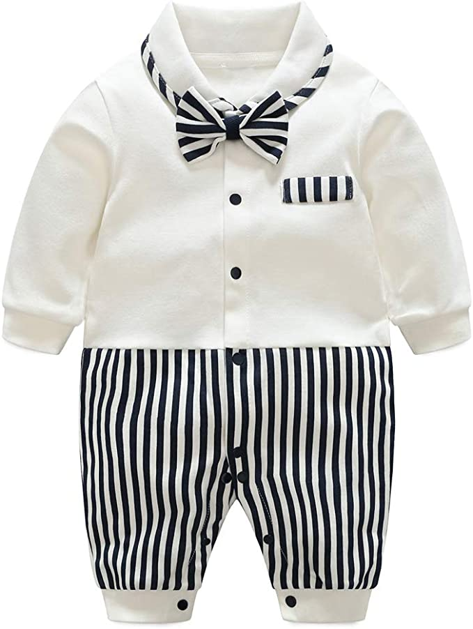 Bebé Algodón Mameluco Recién Nacido Pelele Pijamas Niños Niñas Monos Manga Larga Body Infantil Bodies: Amazon.es: Ropa y accesorios