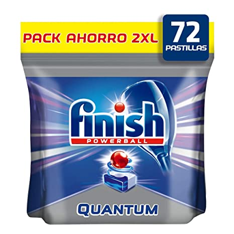 Finish Quantum Regular Pastillas para Lavavajillas 72 ...