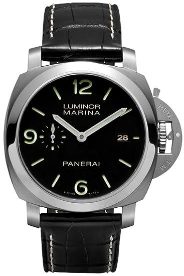 Officine Panerai pam00312 – Reloj de pulsera hombre, piel