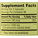Spring Valley - Cinnamon 500 mg Plus Chromium, 180 Capsules