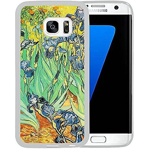 Case for Samsung Galaxy S7 Edge,Vogue Version Irises Samsung Galaxy S7 Edge Case [TPU White] Sales