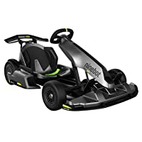Segway Ninebot Electric GoKart Pro and Gokart Bundle, Outdoor Race Pedal Go Karting Car for Kids and Adults, Adjustable Length and Height, Ride On Toys