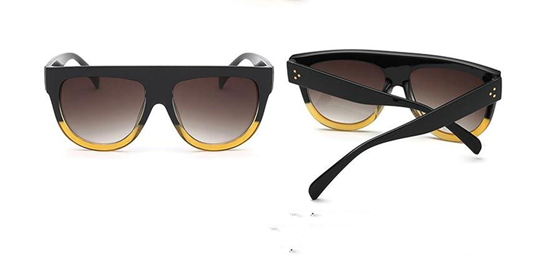 Sucastle Großer Rahmen wild wild wild Sonnenbrille Mode Europa und die Vereinigten Staaten groß mit dem Absatz Sonnenbrille Trend Damen Sonne Brille PC QWERT B071SDYLFS Sonnenbrillen Bevorzugtes Material bf54bb