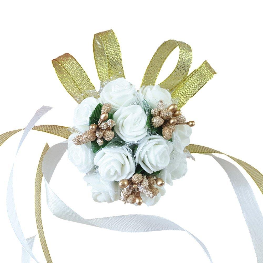 Gold Prom Flowers Amazon