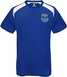 fa6d253de Everton Football Club Official Soccer Gift Mens Poly Training Kit T-Shirt