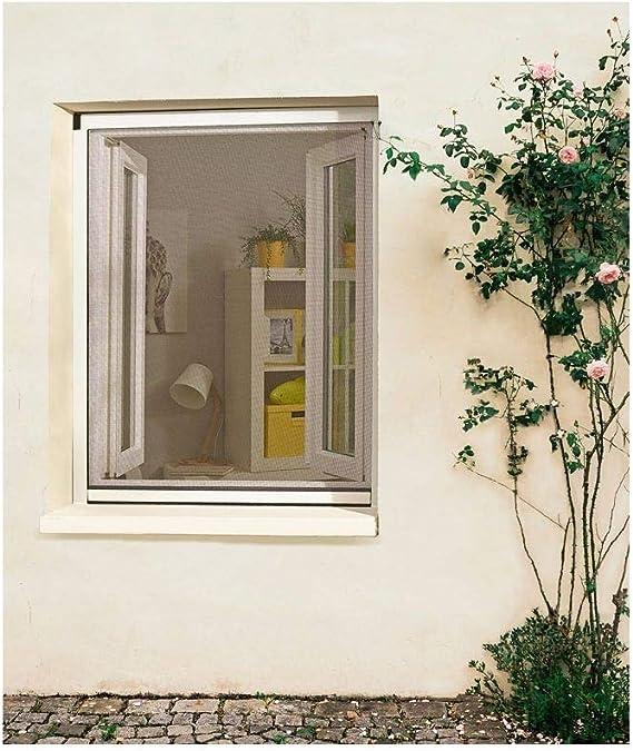 Madeco - Mosquitera enrollable de PVC recortable para ventana: Amazon.es: Jardín