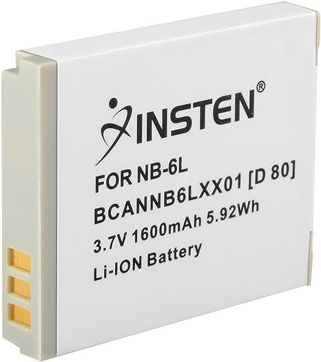 Batería compatible con canon nb-6l Li-ion