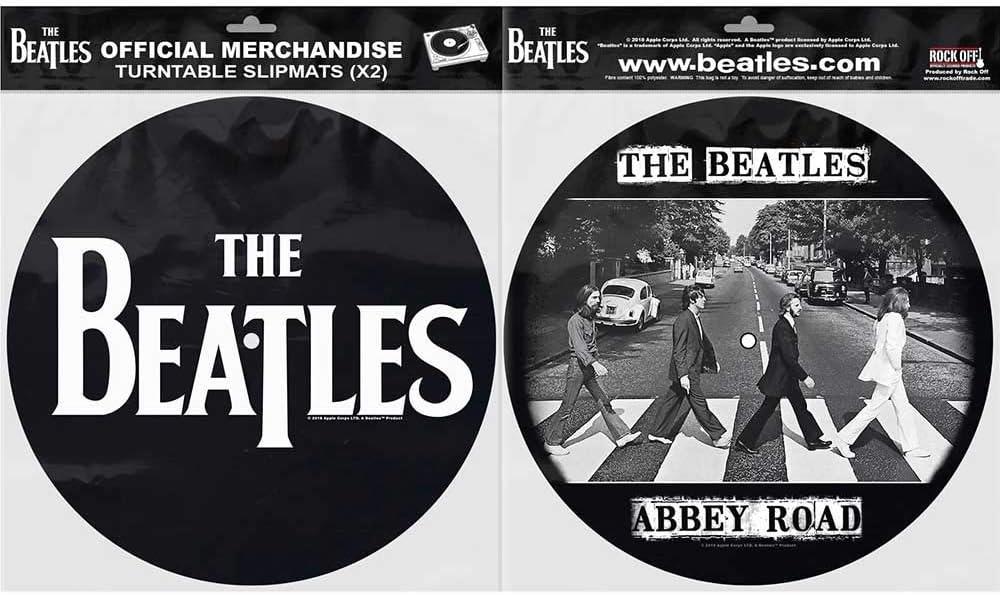 Rock Off Beatles (The) - Drop T Logo & Abbey Road (Tappetino per Giradischi): Amazon.es: Electrónica