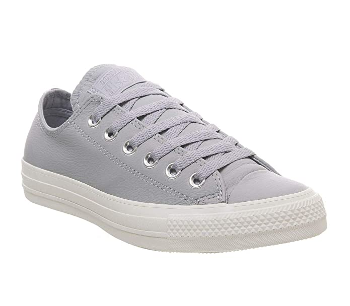 Converse Chucks Chuck Taylor All Star Low Top Sneaker Damen Herren Unisex Grau (Wolf Grey)