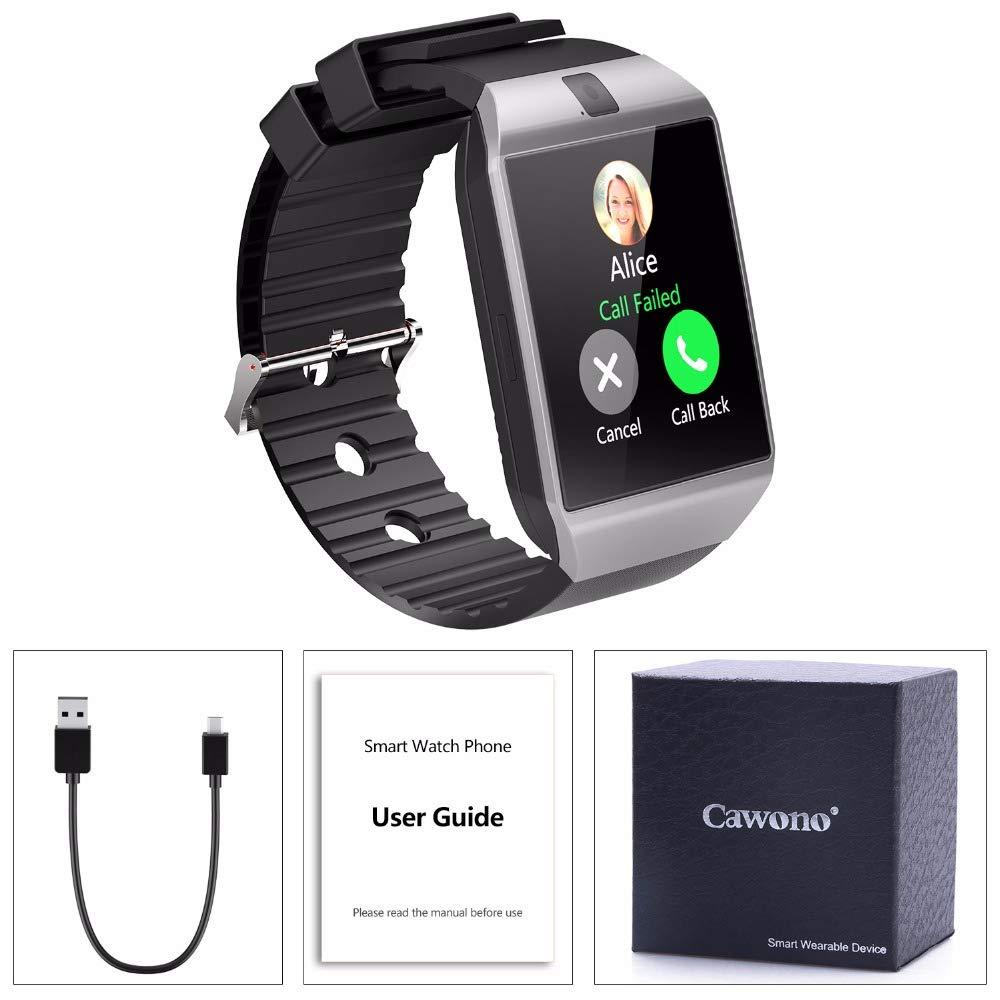 Amazon.com: Bluetooth Smart Watch Smartwatch DZ09 Android ...