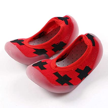 FOONEE - Calcetines Antideslizantes para bebé, con Suela de Goma, Antideslizantes, Zapatillas,