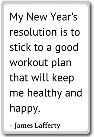 Amazon.com: My New Year\'s resolution is to stick to a go... - James ...