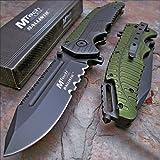 "MTECH USA Mtech Ballistic 8.7"" Heavy Duty Folding Blade Pocket Knife"