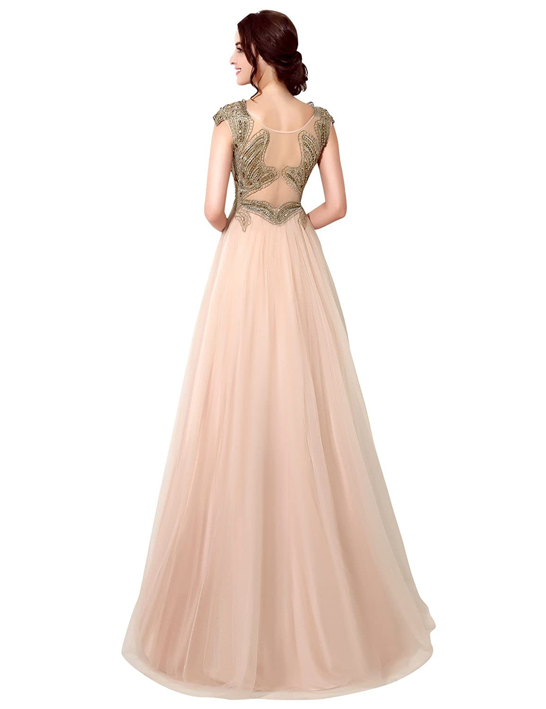 Favebridal Women's Long Evening Dresses XU032
