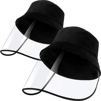 Sun Hat Shield with Adjustable Elastic Tape Unisex Clear Visor Hat Wide Brim
