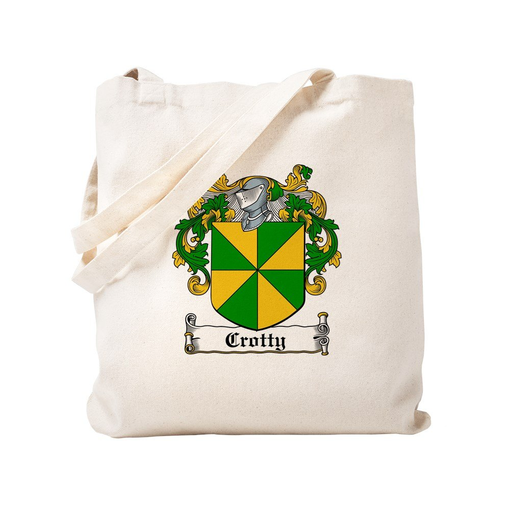 CafePress - Crotty Coat Of Arms - Natural Canvas Tote Bag, Cloth Shopping Bag