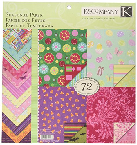 Crafting K & Company Paper (K&Company Seasonal 12-by-12-Inch Paper)