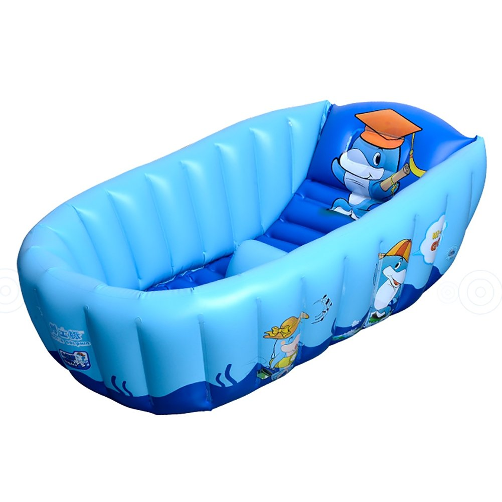 Amazon.com: Baby Inflatable Bathtub, Norbi Folding Inflatable Kids ...