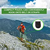 Pocket Chainsaw & Firestarter Magnesium Fire Rod Survival Gear -36 Inch Camping Equipment Handsaw - Best For Hiking & Emergencies, Wood & Tree Cutting Multitool Folding Compact Camp Saw By SUMPRI