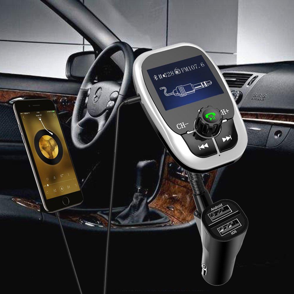 Anbero Bluetooth Kfz FM Transmitter: Amazon.de: Elektronik