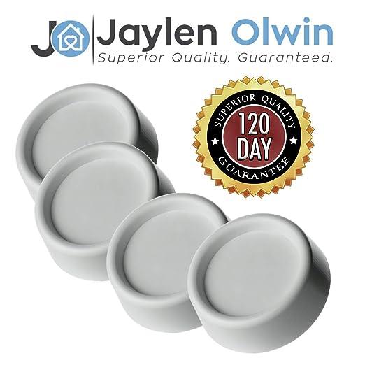 Jaylen Olwin + Almohadillas antivibración para lavadoras y ...