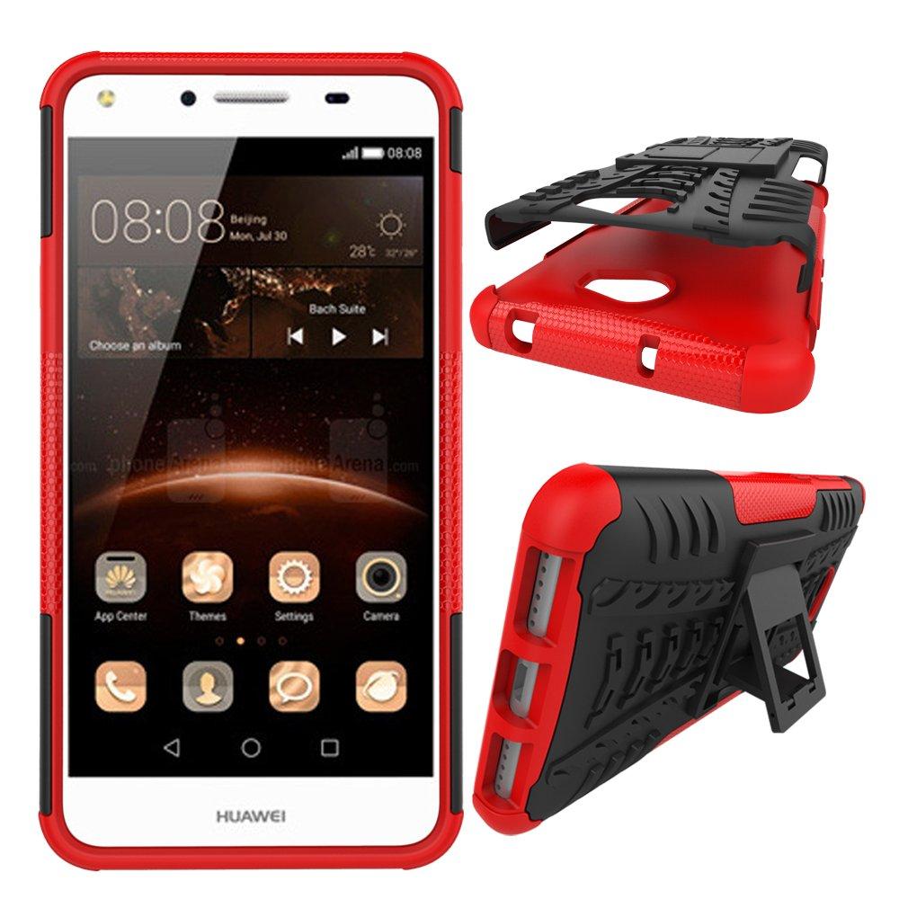 Amazon.com: Huawei Y5II Case, SsHhUu Tough Heavy Duty Shock ...