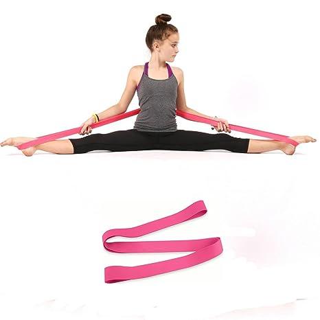 Banda elástica para gimnasia bailarines de Ballet ssguer9 más versátil danza estiramiento flexibilidad Trainer