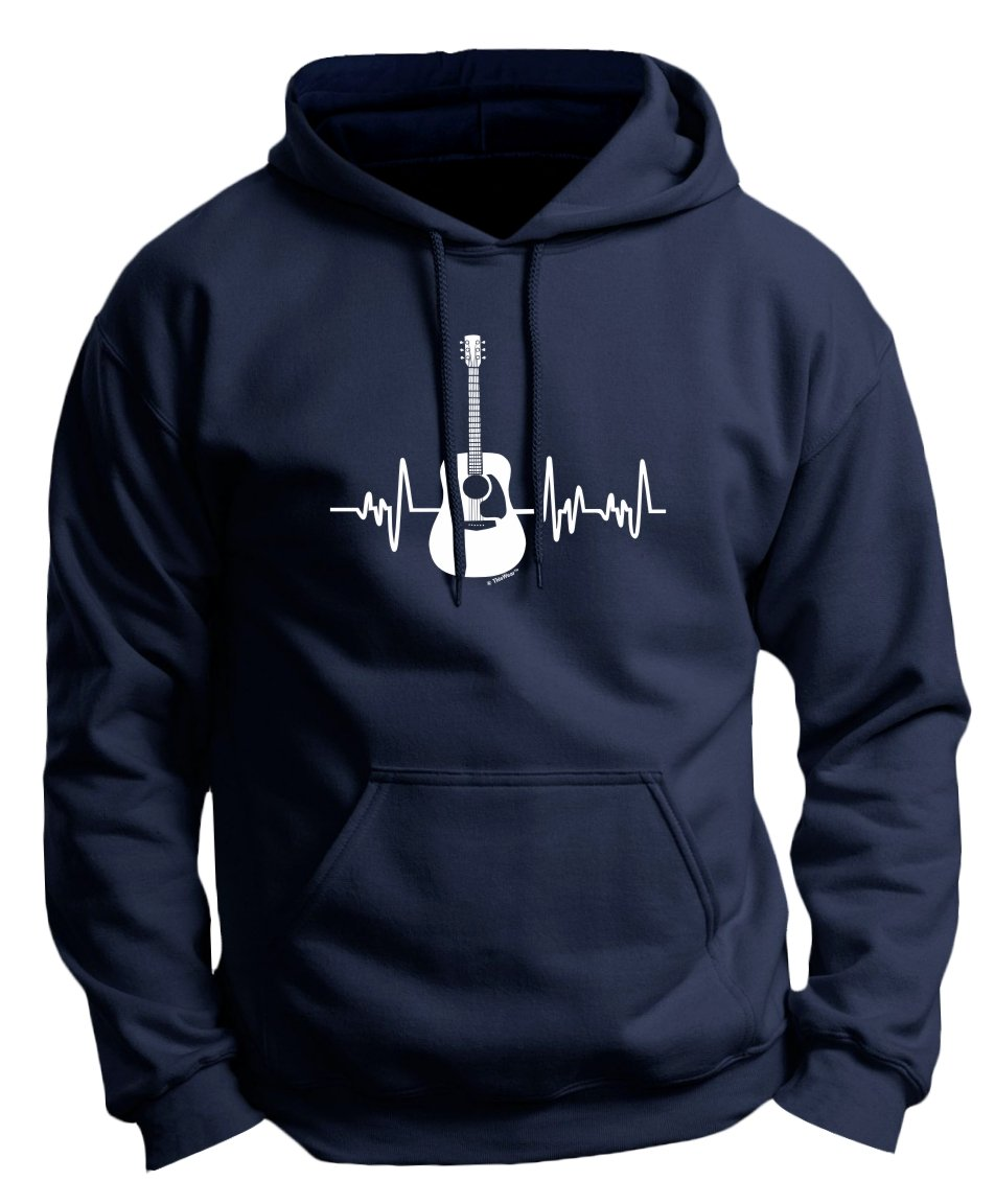 Music Lovers Gifts Acoustic Guitar Heartbeat Guitar Premium Shirts