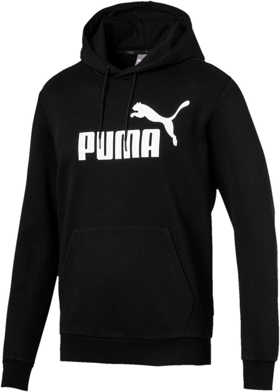 TALLA S. PUMA ESS Hoody FL Big Logo Sudadera, Hombre