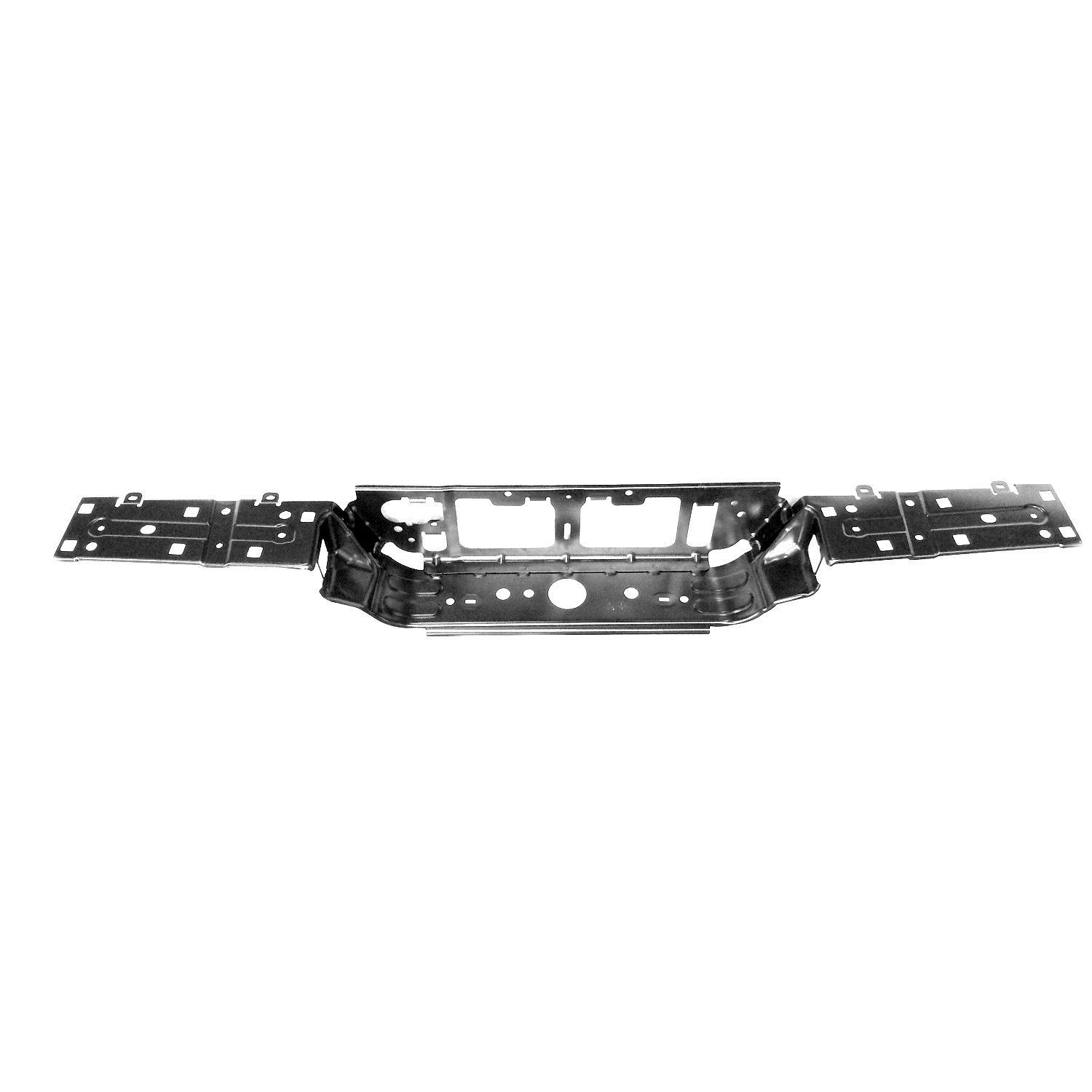 CPP Rear Steel Bumper Face Bar for 2016 Toyota Tacoma