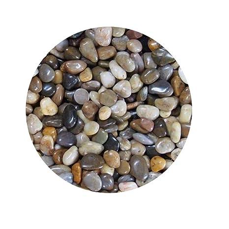 TELLW - Piedra de Masaje para pecera de jardín, con Piedras pulidas de 1 a