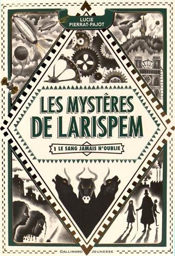 Les mystères de Larispem - Tome 1 : Le sang n'oublie jamais de Lucie Pierrat-Pajot  61u-BAuwnAL
