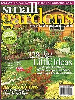 Small Gardens Magazine Country Decorating Ideas # 205 2018 ...