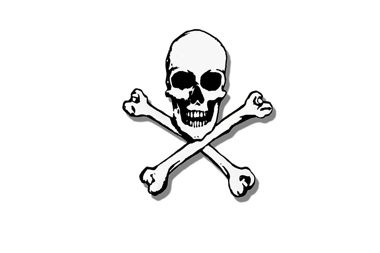 Amazon com licensed originals pic skull automotive