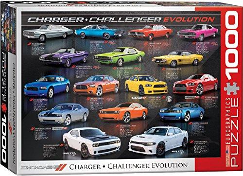 EuroGraphics Dodge Charger Challenger Evolution Puzzle (1000 Piece)