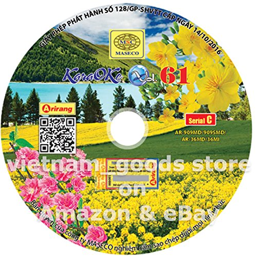 arirang-karaoke-vision-midi-disc-vol-61-serial-c-vietnamese-english-chinese-for-arirang-player-ar-90