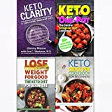 Keto clarity [hardcover] one pot ketogenic diet cookbook,lose weight 4 books collection set