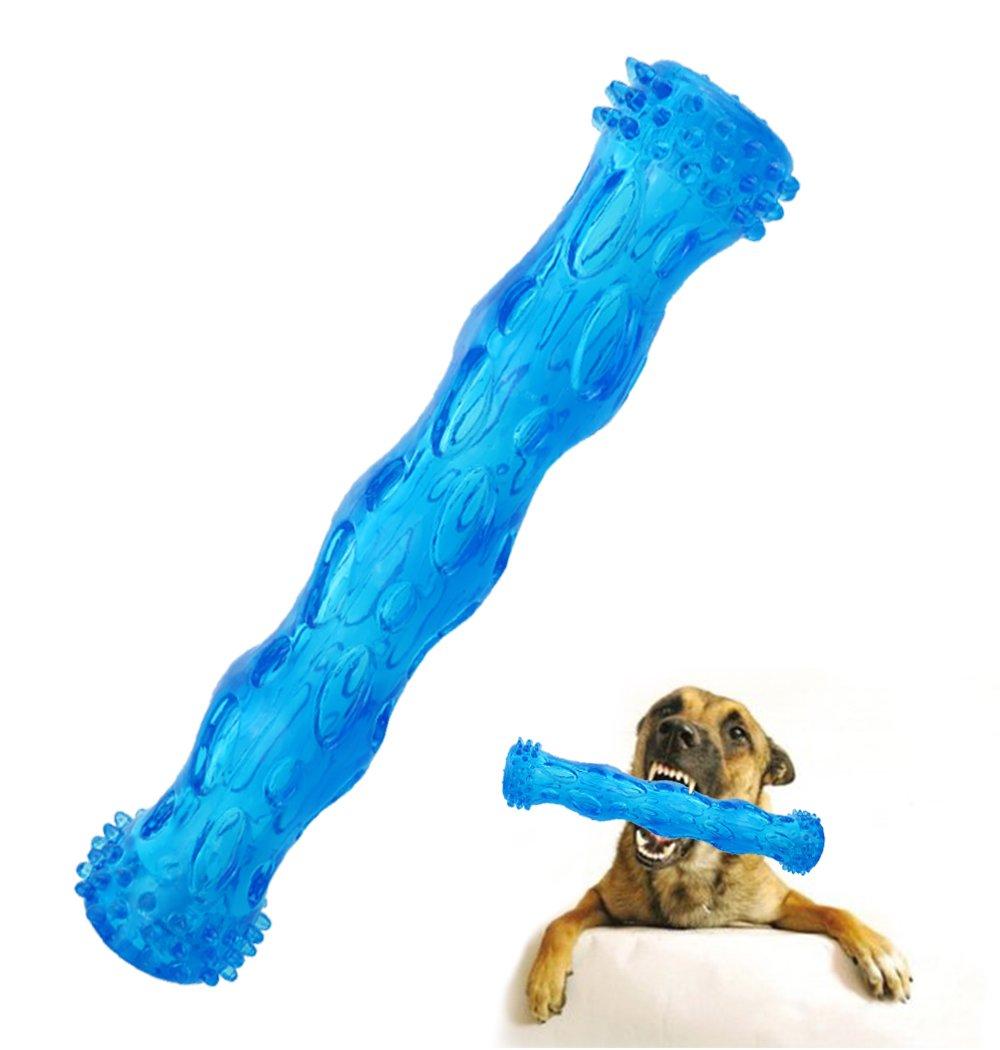 limpieza de dientes y juego de puzzle para cachorro 3 tama/ños y 3 opciones de colores CEESC Juguete para masticar hueso de perro