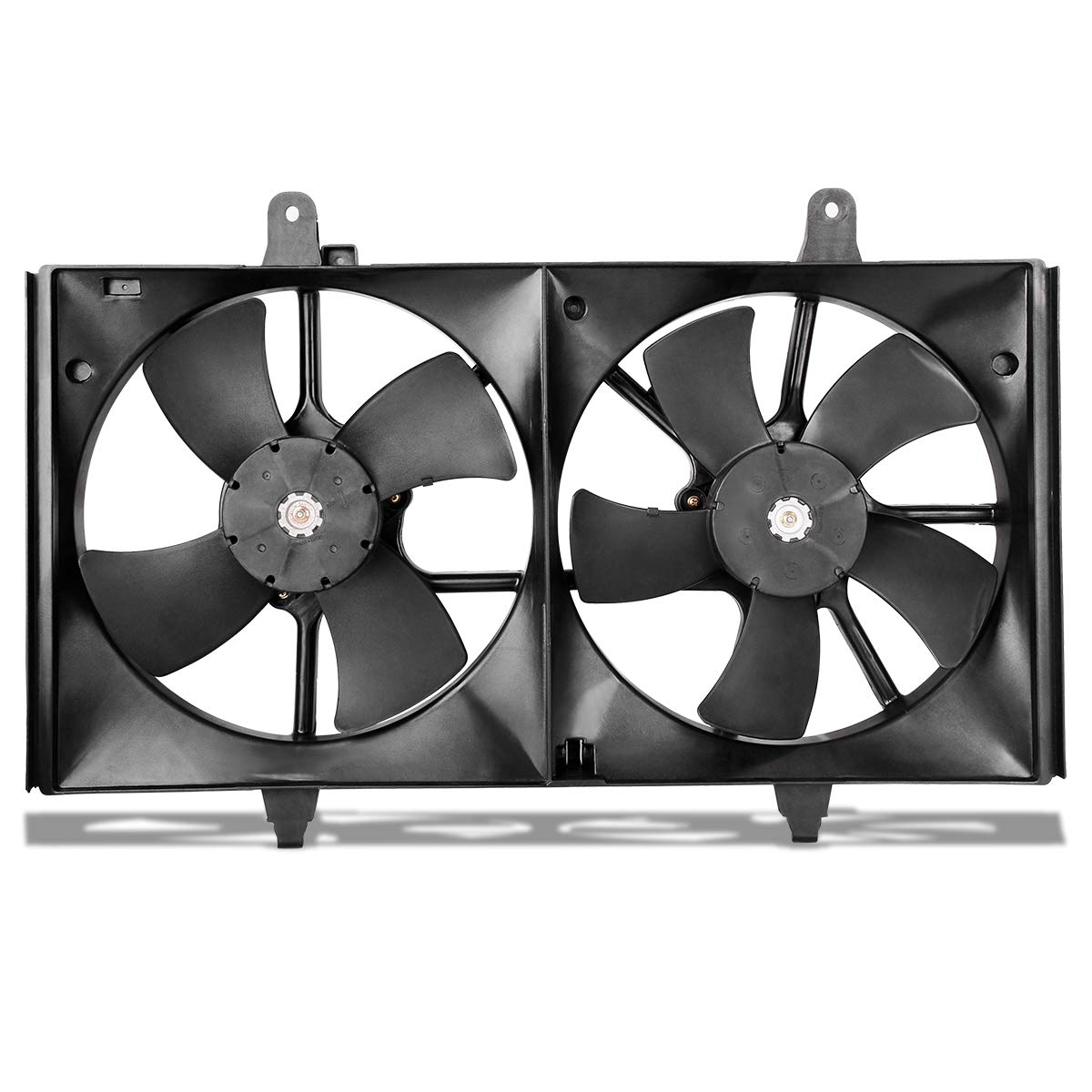 Radiator AC Condenser Cooling Fans For 2002-2006 Nissan Altima 2.5L 3.5L, For 2004-2008 Nissan Maxima 3.5L ATRDF012