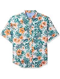 Men's Big and Tall Saltwater Chambray Short Sleeve Shirt