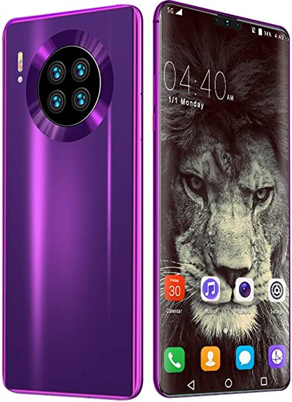 - Ppjy Mobile Phone Mate 39 – Smartphone Quad Rear Camera DualSIM Free Android Phones with 4800mAh Big Battery 6.7 inches FHD Display 8GB RAM 512GB ROM Fingerprint Unlock Face ID GPS