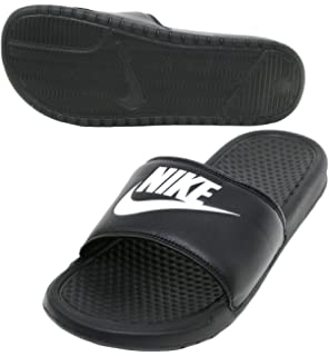 b8f528066ae5 Nike Mens Benassi JDI Slide Sandal (Black Black) (10 D(M