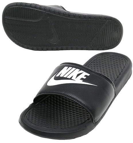 cf13439f3a0f26 Nike Mens Benassi JDI Slide Sandal (Black Black) (10 D(M) US