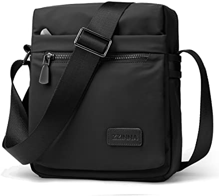 Canvas Bag Shoulder Bag Tote Purse Crossbody Messenger Satchel Women Men Handbag