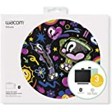 "Wacom Intuos Wireless Graphic Tablet with 3 Bonus Software Included, 7.9"" x 6.3"", Black with Pistachio Accent (CTL4100WLE0)"