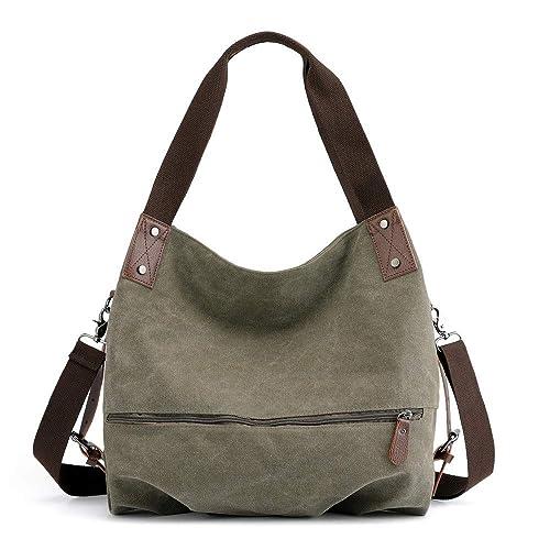 add57df6d5a0 Amazon.com: Handbag On Sale,Clearance!AgrinTol Women's Canvas ...