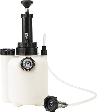 Sfeomi Bremsen Entlüftungsgerät Flasche Bremsenentlüfter 3l Fassungsvermögen Bremsenentlüftungsgerät Bremsflüssigkeit Auto Bremsentlüftung Entlüftungsflüssigkeit Kit Tool Motorrad Werkzeug Auto